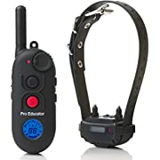 Educator PE-900 Pro 1/2 Mile E-Collar Remote Dog Training Collar With Vibration, Tapping Sensation and Pavlovian Stimulation