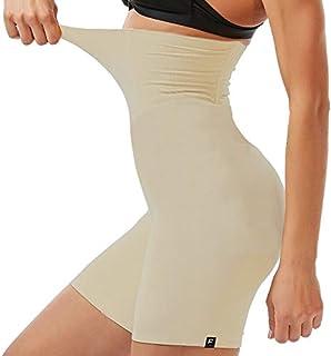 Shorts Cinta Modeladora Com Alta Compressão Redutor Cintura