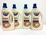 4x Emsal Parquet 750 ml/gesamt 3 Liter (Parkett Reiniger - spanisches Label, inkl. deutscher...