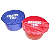 Stable Kit Unisex's Bucket Cover Nylon Evening Feed, Red, Regular