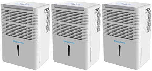 Find Cheap Keystone KSTAD50B Energy Star 50-Pint Portable Dehumidifier for 3000 Sq. Ft. with 6.4-Pin...