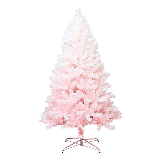 AISHANG Árbol de Navidad Artificial de PVC, 180 cm 6 pies, Rosa,...
