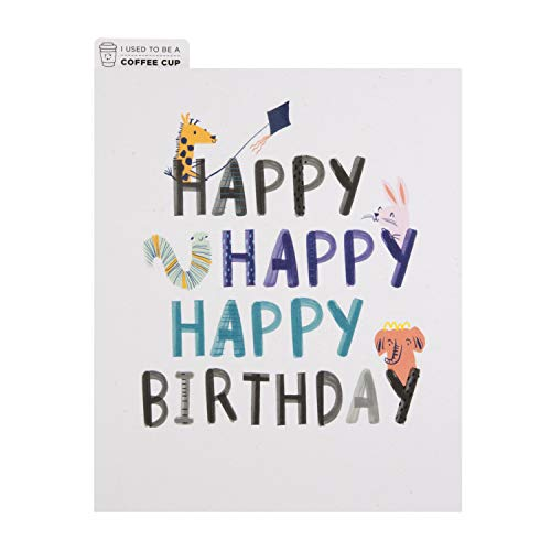 General Birthday Card from Hallmark - Croppers Cup-cycled Design