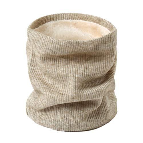 LASISZ Winter Sjaal Voor Vrouwen Gebreide Warm Neck Ringen Lady Kinderen Meisje Gezichtsmasker Heren Halsdoek Pluche Kraag Sjaals