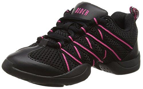 Bloch 524 Criss Cross Tanz Sneaker  , Rosa , Gr. EU 38 (US 8/UK 5)