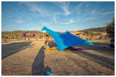 Sombrilla de Playa Nano - Pop Up Ligero Carpa de Playa Refugio...