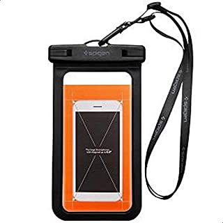 Spigen Universal Waterproof Case Pouch Dry Bag for Cell Phone & Accessories