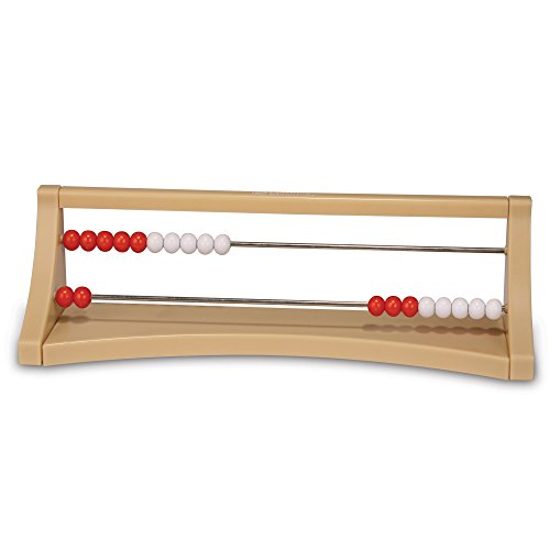 Learning Resources 2-Row Rekenrek Counting Frame, Early Math Skills, Addition/Subtraction, Ages 5+