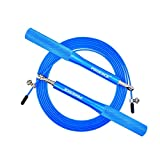 Speed Jump Rope - 360° Dual Bearing, Adjustable, Aluminum Handle for Fitness Training, double unders, Boxing Sports Exercises, for Kids and Adults