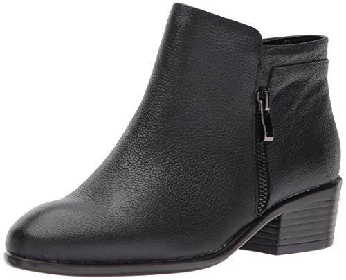 Aerosoles Women's Mythology Boot, Black Leather, 8.5 M US