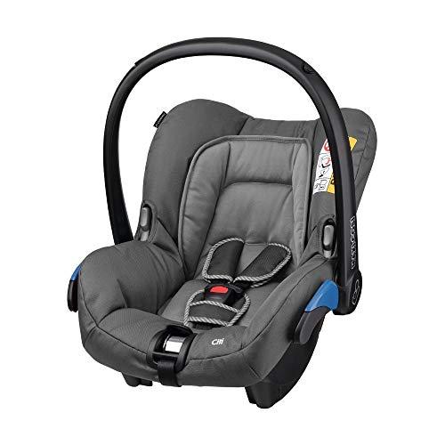 Maxi-Cosi Citi Babyschale, federleicht, Gruppe 0+ Kindersitz (0-13 kg), nutzbar ab der Geburt bis 12 Monate, Concrete Grey