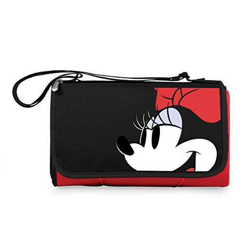 Disney Minnie Mouse Classics Outdoor Picknick Decke Tote ', rot