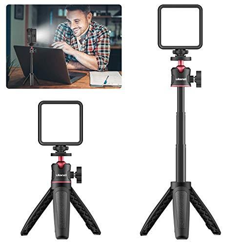 VIJIM Video Konferenz Beleuchtungs Kommt mit Einem Stativ Set für Fernarbeiten, MacBook, Video Konferenzbeleuchtung, Laptop Licht für Videokonferenzen, Zoom Anrufe, Selbstübertragung, Live Streaming