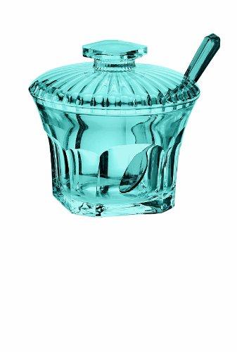 Guzzini Belle Époque Zuccheriera con Cucchiaino, Azzurro Mare