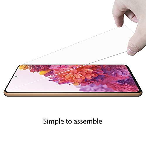 ANEWSIR 3 Stück Displayschutzfolie für Samsung Galaxy S20 FE/FE 5G Panzerglas Schutzfolie, Ultra-klar Displayschutz, [9H Härte][Bubble Free] Schutzfolie Folie für Samsung S20 FE/FE 5G