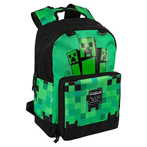 JINX Rucksack MINECRAFT CREEPER FATIGUED AGAIN, 46cm x 36cm
