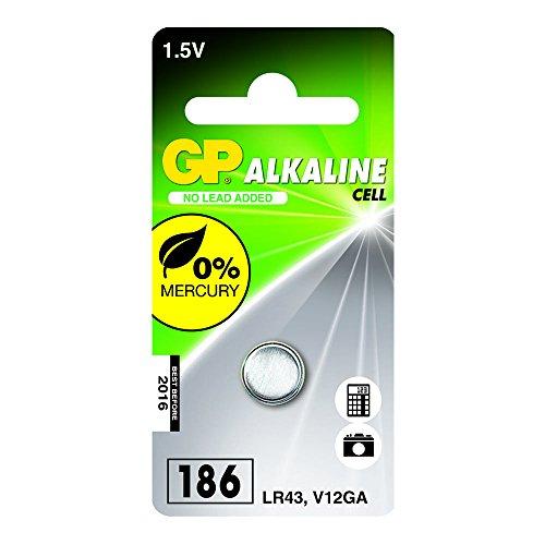 GP Batteries 102003 LR43, Vert