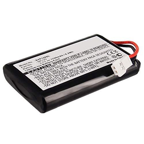 subtel® Qualitäts Akku kompatibel mit Seecode Vossor V3, Vossor Phonebook, Vossor Plus, NP120 1700mAh Ersatzakku Batterie