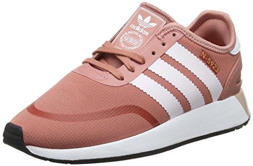 adidas Damen Iniki Runner CLS Fitnessschuhe, Pink (Roscen/Ftwbla/Ftwbla 000), 36 2/3 EU