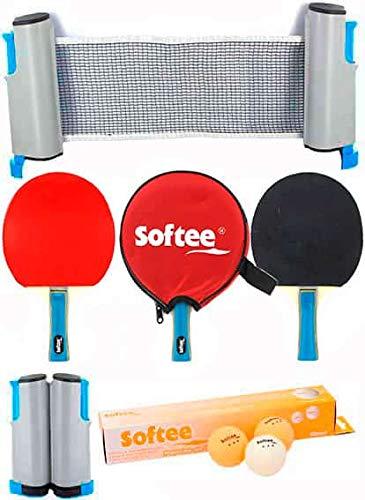 Super Set Ping Pong P100 - Negro