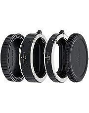 JJC 11mm/16mm Sets Metal Tubo de Extensión TTL Enfoque Automático AF para Nikon Z Mount Z7, Z6, Z5, Z50 Cámara Digital y Lentes Z Mount