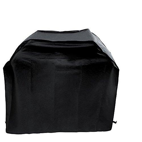 Gosear Cubierta para Barbacoa Impermeable, Barbacoa Parrilla Funda microondas Horno Campana Lluvia Polvo Protector de Rayos Ultravioleta Homelife Accesorios 145 x 61 x 117 cm