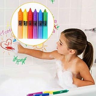little finger 6 lápices de Ceras de baño Lavables de