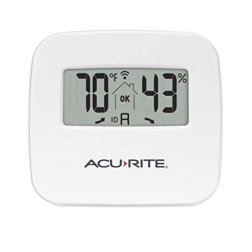 AcuRite 06044M Wireless Temperature and Humidity Monitor Sensor