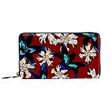 Damen-Geldbörse mit Reißverschluss und Handy-Clutch, Philippinen-Blumen, australisches...