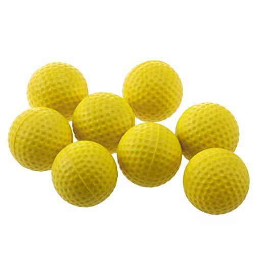 WINOMO Pack de 18 Pelotas de Golf de gomaespuma de Golf - Color Amarillo