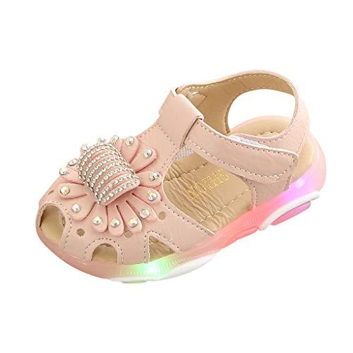 Sandalias para Bebé Niñas Riou Zapatos de la Zapatilla de...
