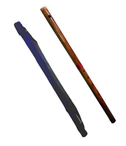 102 cm Bansuri - Flauta travesera india (bajo profundidad) de bambú. 1/C calificación india, gran dificultad
