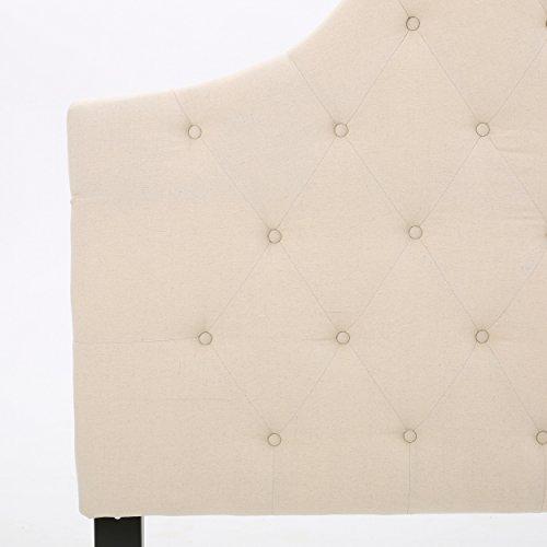 Christopher Knight Home Marlen Headboard - Fully Upholstered, Queen / Full, Beige,298486