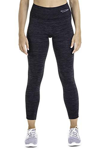 XAED, pantaloncini sportivi da donna, colore nero, taglia L