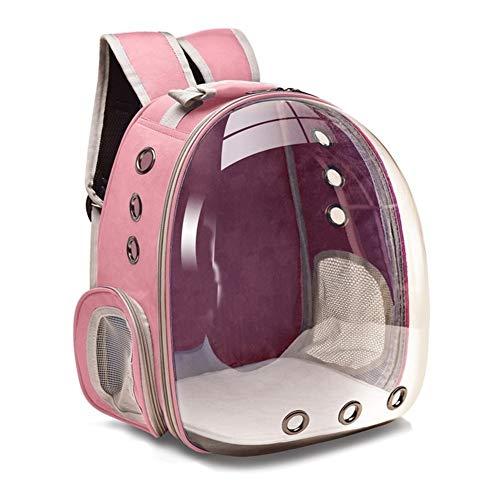 3°Amy Mochila para Mascotas Gato de Las Bolsas Transpirables portadores del Animal doméstico del Gato del Perro Mochila Viaje Cápsula Espacial Jaula del Animal doméstico Bolsa de Transporte en el Que