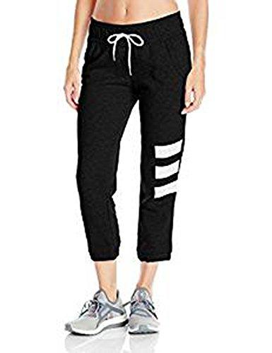 adidas Damen Adigirl Fleece Capri, Damen, schwarz, X-Small