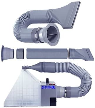 Exhaust Extension Hose Kit for Hobby Airbrush Spray Booth - Hose
