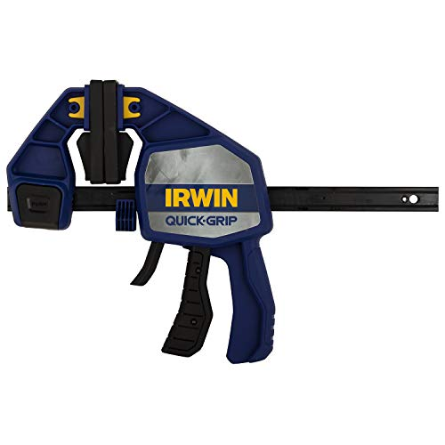 IRWIN QUICK-GRIP Bar Clamp, One-Handed, Heavy-Duty, 6-Inch (1964711)