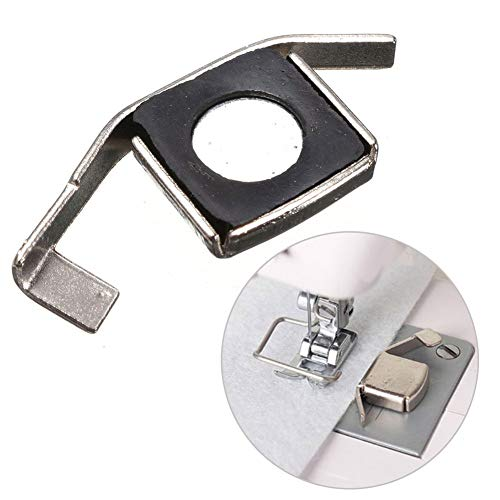 Magnético Costura Guía Doméstico Máquina de Coser Industrial Pie, o Máquinas de Coser Herramientas y Costura Decoración Fuente - Universal - Plateado, 5 * 2 * 0.5cm
