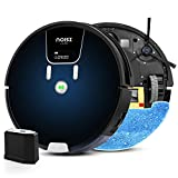 noisz by ILIFE S8 Pro Robot Vacuum and Mop 2 in 1, 2000Pa, Route Planning, Auto Boosts on Carpets, ElectroWall, Good for Hard Floors, Medium-Pile Carpets, Gradient Blue (NZS8 Pro)