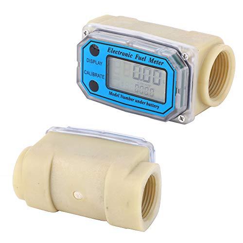 Débitmètre à Turbine Numérique Débitmètre de Carburant Diesel 15-120L/min 1\