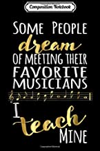 Composition Notebook: Music Teacher Italian Musical Terms Words List Journal/Notebook Blank Lined Ruled 6x9 100 Pages
