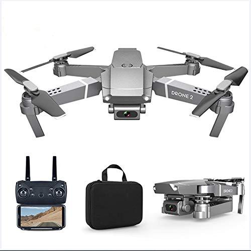 SZYLHT Drone con Telecamera 4K HD WiFi FPV Rc Mini Drone Ritorno Automatico con Un Solo Pulsante Controllo Vocale One Key Start modalità Senza Testa per Bambini E Principianti Buon Regalo,4 batterie
