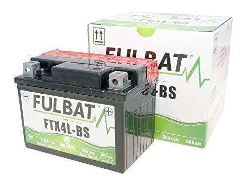 Fulbat Batterie FTX4L-BS MF 12V 3 Ah Aprilia ATU Gilera inkl. 7,50EUR Versand