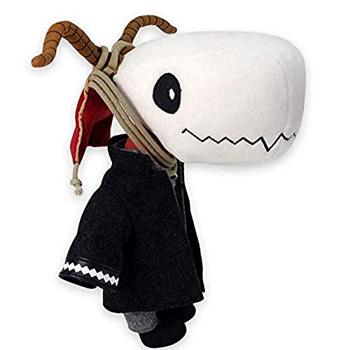 stogiit Japón Anime The Ancient Magus Bride Hatori Chise Elias Aworth Plush Skull Stuffed Doll Kids Toy Cosplay Gift 23Cm