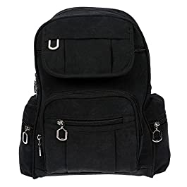 Christian Wippermann® , Sac à main porté au dos pour femme noir noir 24 x 30 x 13 cm