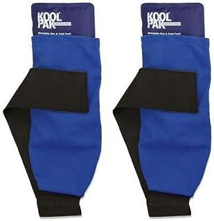 Koolpak Pack de 2 bolsas de frío y calor de lujo, reutilizables