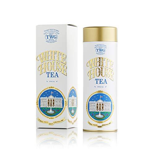 TWG Tea | White House Tea. Tè bianco in foglia, in un'elegante scatola di latta Haute Couture. Confezione regalo da 100 g