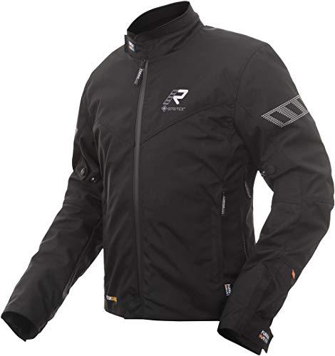 Rukka Start-R Chaqueta textil para motocicleta, color negro, 56