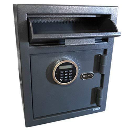 Hollon Safe DP450LK Security Drop Safe, Gray, Medium